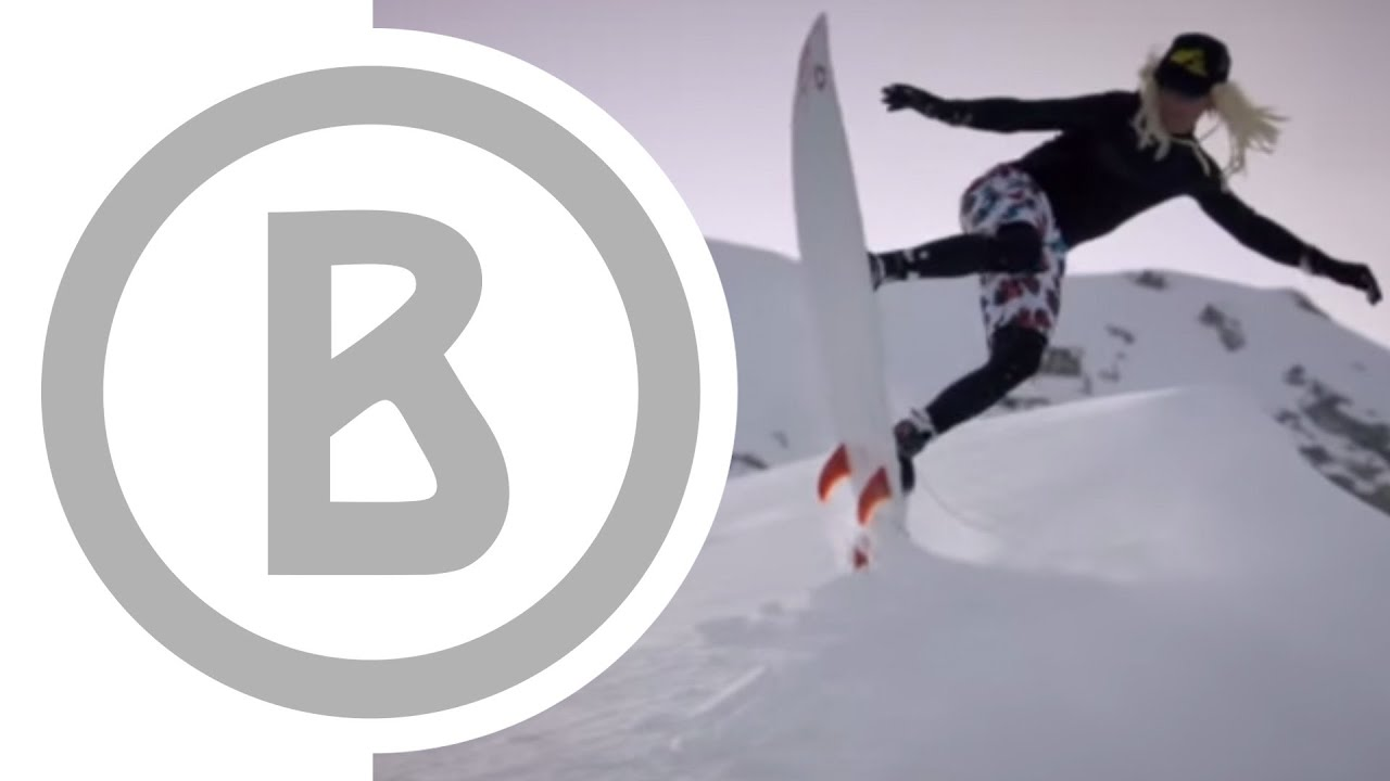 Trailer: VISIONS // Snow Surfing // Willy Bogner Film