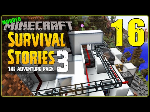 Minecraft Modded | Survival Stories 3 [S1E16] - Pipes And Chambers!
