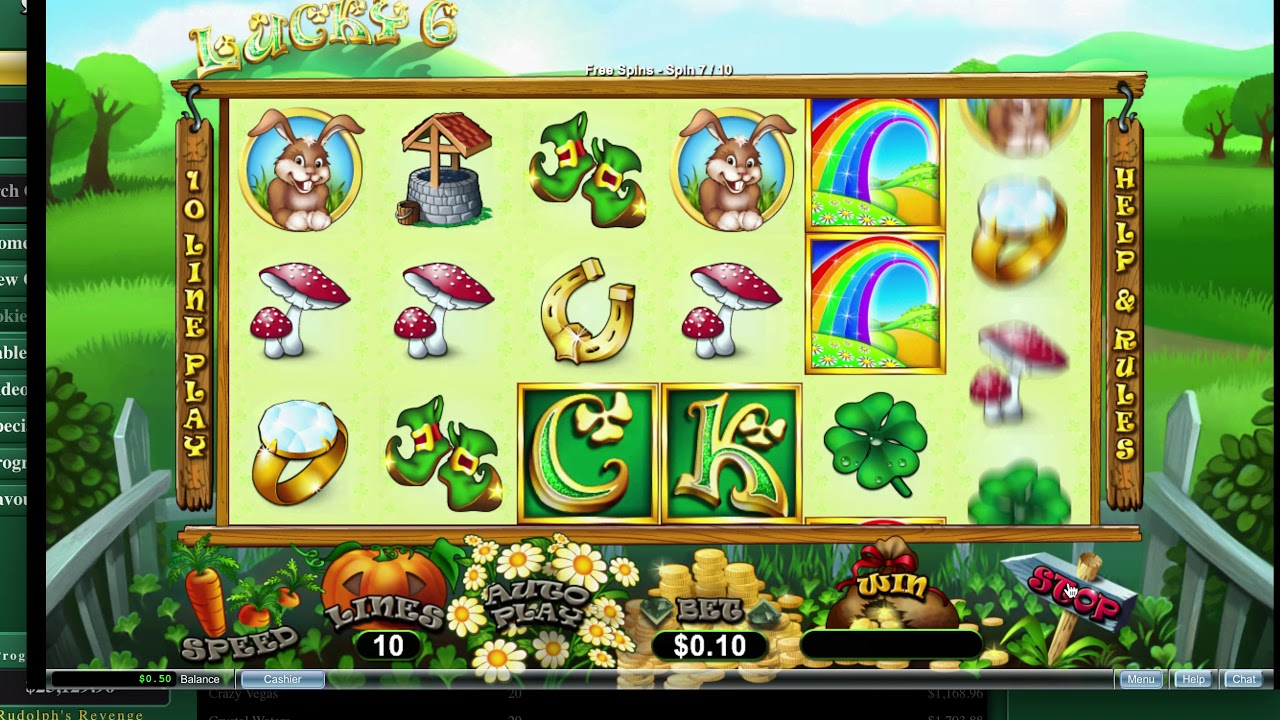 Fair Go Online Casino Slots Playthrough Lucky 6 Slots