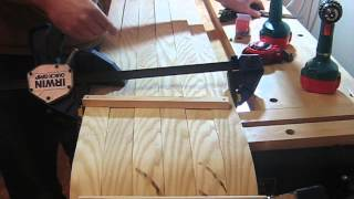 Making A Wood Toboggan Part 3