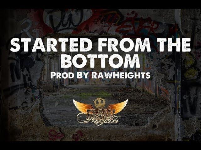 Started From the Bottom - (prod. RawHeights.com) Trap Beat