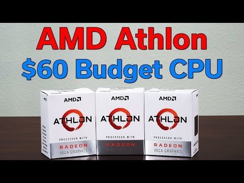 $60 Budget CPU with VEGA Graphics — AMD Athlon 240GE Review — Worth Buying?