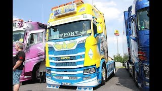 Maik Terpe Scania S 500 Highline CS20H Showtruck - Lkw-Thorsten TV