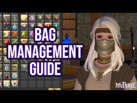 FFXIV 2.57 0608 Bag Management Guide