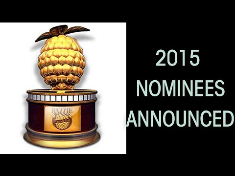 2015 Razzie (Golden Raspberry) Award Nominations Announced