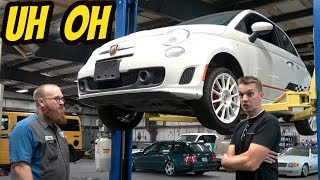 Here's Everything THat's Broken On My Cheap Fiat 500 Abarth (EXPENSIVE PARTS!)
