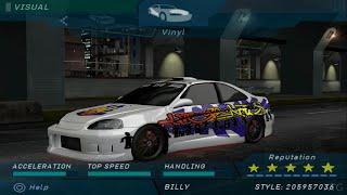 Need for Speed Underground - Honda Civic PS2 Gameplay HD