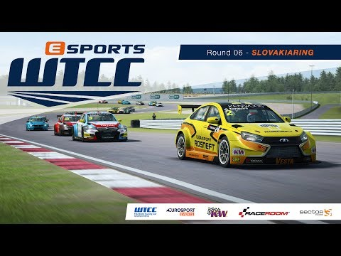 eSports WTCC | Round 06 – Slovakiaring [French Broadcast]