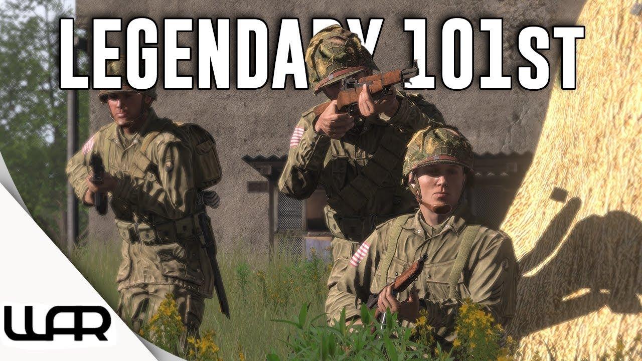 Arma 3 Milsim - Legendary 101st - 101st Airborne (WW2) - Ep 2