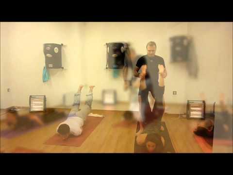 Vinyasa Hot Yoga Class - 31st january 2013.wmv
