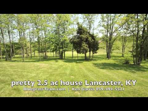 2.5 Acres House For Sale Lancaster, KY Garrard County Home Land Best Real Estate Agent In Kentucky