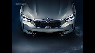 BMW Concept iX3 - First Video