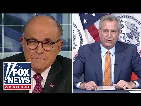 Rudy Giuliani slams Mayor de Blasio: He should hang his head in shame
