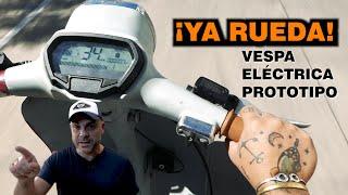 PROYECTO E-VESPA: ¡¡Salimos a rodar con el prototipo!! - Episodio IV