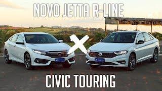 Comparativo: Novo Jetta R-Line X Civic Touring