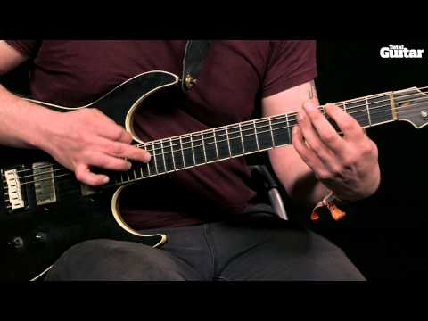 Guitar Lesson: Learn how to play Sikth - Part Of The Friction - bridge (TG254)