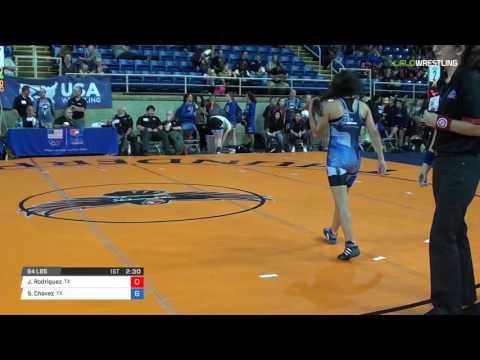 Cadet WM 94 Cons 8-2 - Jennifer Rodriguez (TX) vs. Samara Chavez (TX)