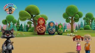 Сборник развивающих мультиков для малышей от 1 года – ТаняВаняКот