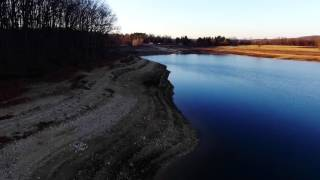 Round Valley Reservoir - Drone Footage | Clinton Township, NJ