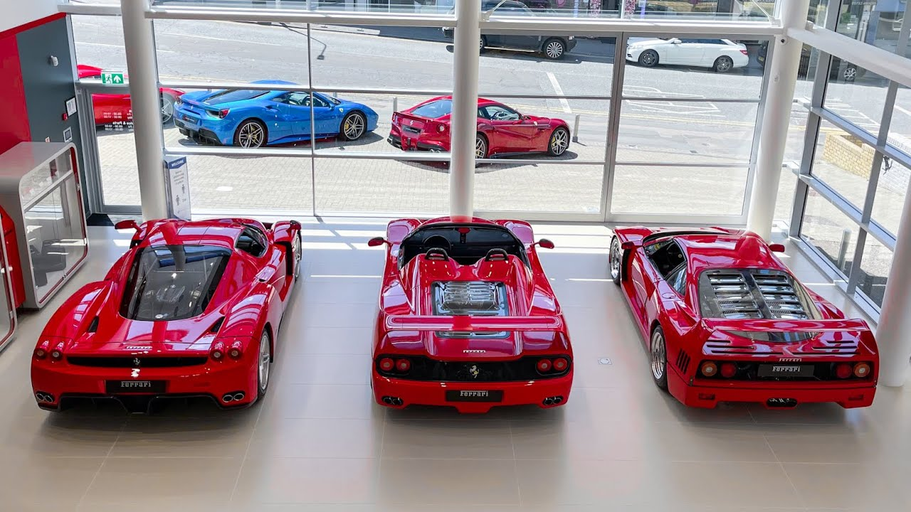 DREAM DAY! 24 hours To Drive A Ferrari F40, F50 and an ENZO!