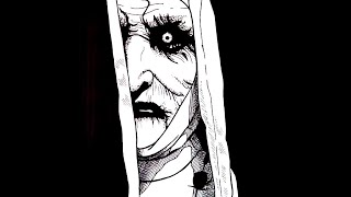 The Nun 2017 | time lapse drawing