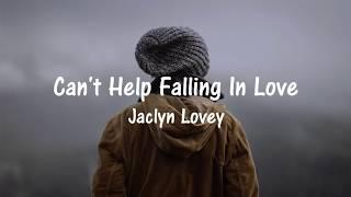 Baixar Jaclyn Lovey | Can't Help Falling In Love | Sub. Español