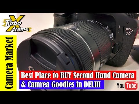 DSLR Market In delhi | Cheap Rate | best Place to buy DSLR | Kucha Choudhary Market | TURBO XTREME