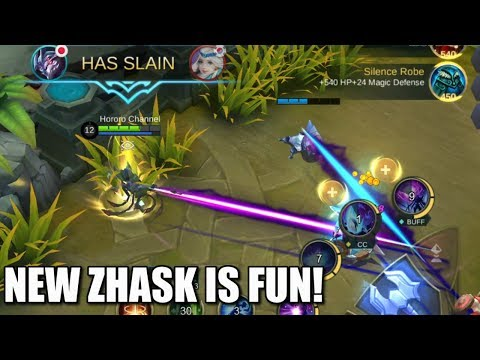 NEW ZHASK IS REALLY FUN!