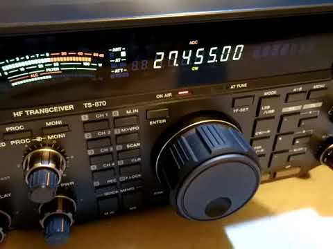 KENWOOD TS-870 Venta a cliente, demostracion del equipo