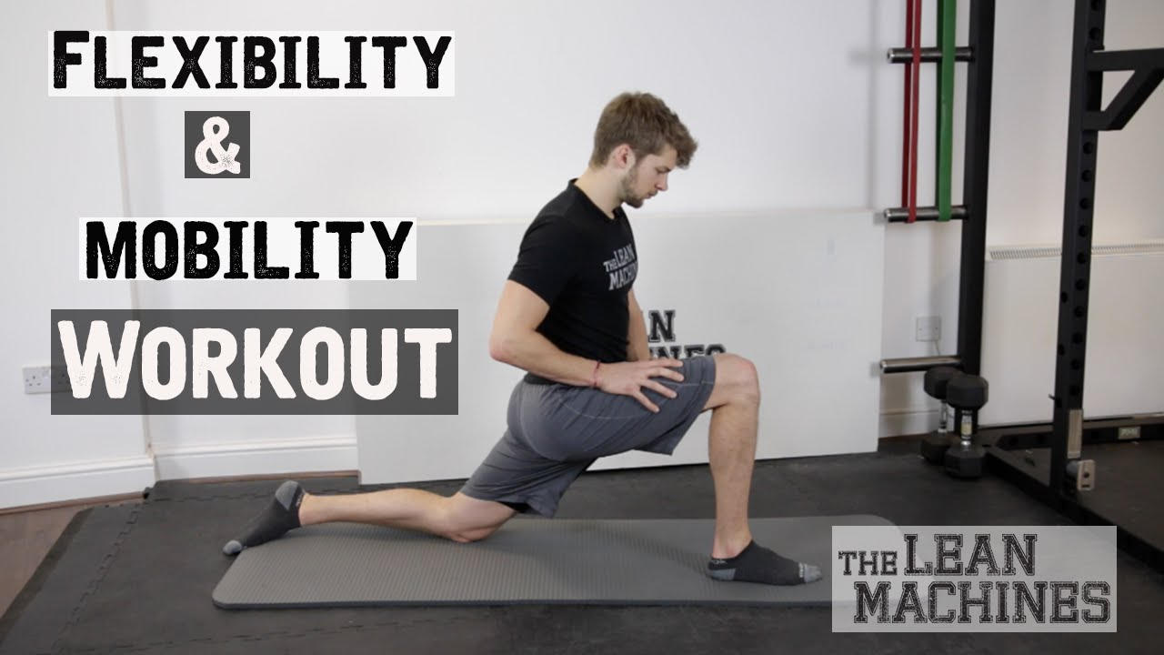 76d93e09bfdc Flexibility and Mobility Workout (20 min) - YouTube