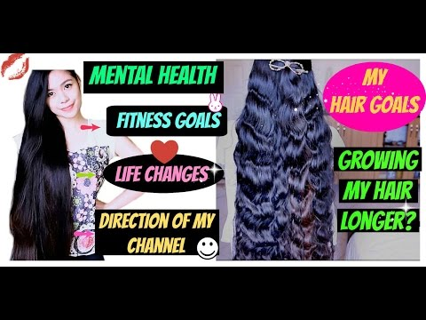 Hair Goals 2016 Fitness, Mental Health, Personal Growth and Direction of my Channel