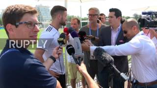 Russia: Group-leaders Germany train ahead of Mexico semi-final