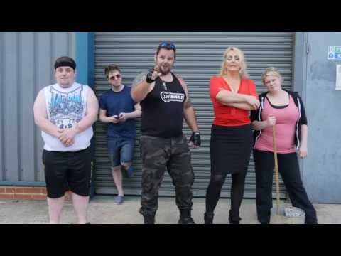 LUV MUSCLE Gym Comedy Humor Workout Series
