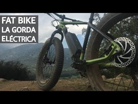 Review de la Fat Bike Eléctrica - La Gorda Eléctrica!