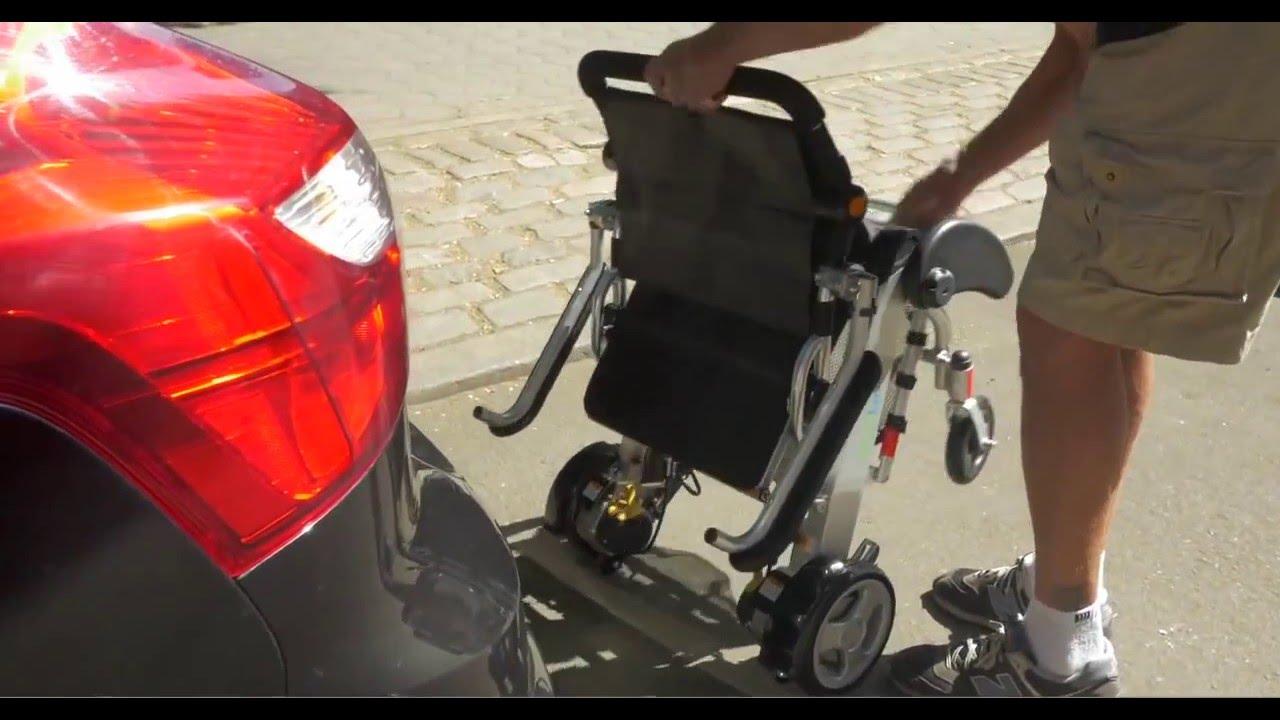 silla de ruedas electrica plegable apex