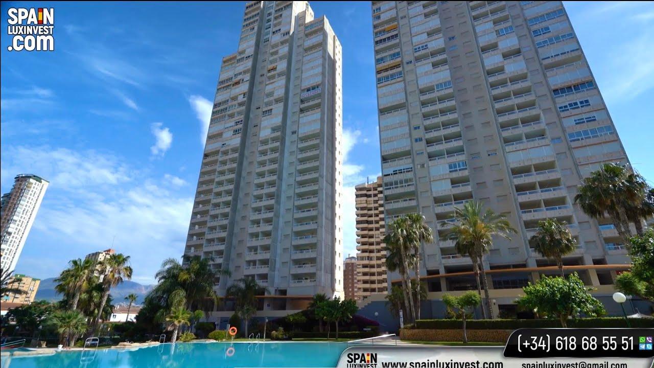 🔴Для отдыха и инвестиции - квартира у моря в Испании/Недвижимость в Бенидорме/Аликанте/Коста Бланка