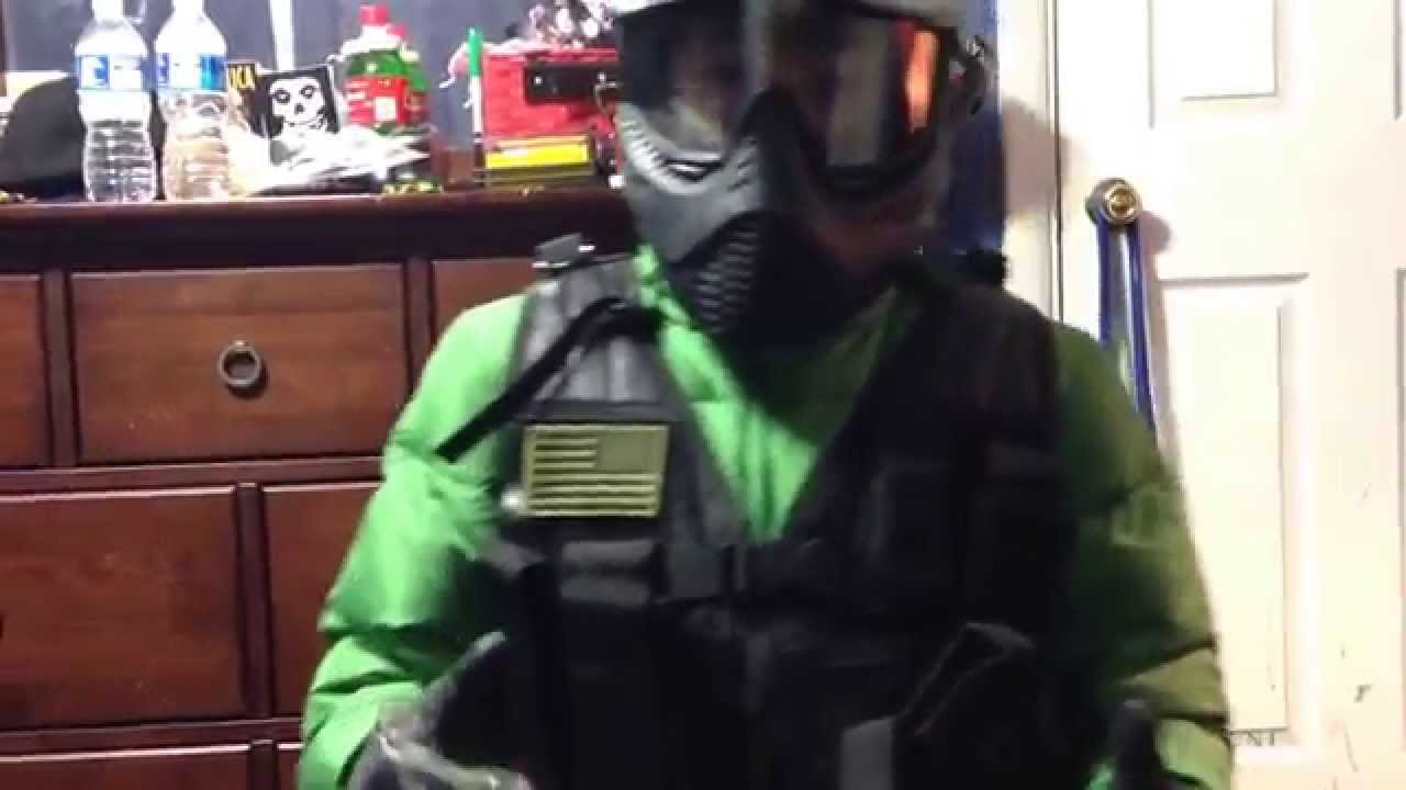 How to make an airsoft juggernaut suit & How to make an airsoft juggernaut suit - YouTube