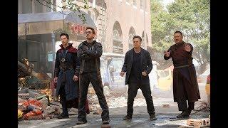 Тони Старк и Доктор Стрэндж против Чёрного ордена.  Мстители: Война бесконечности.