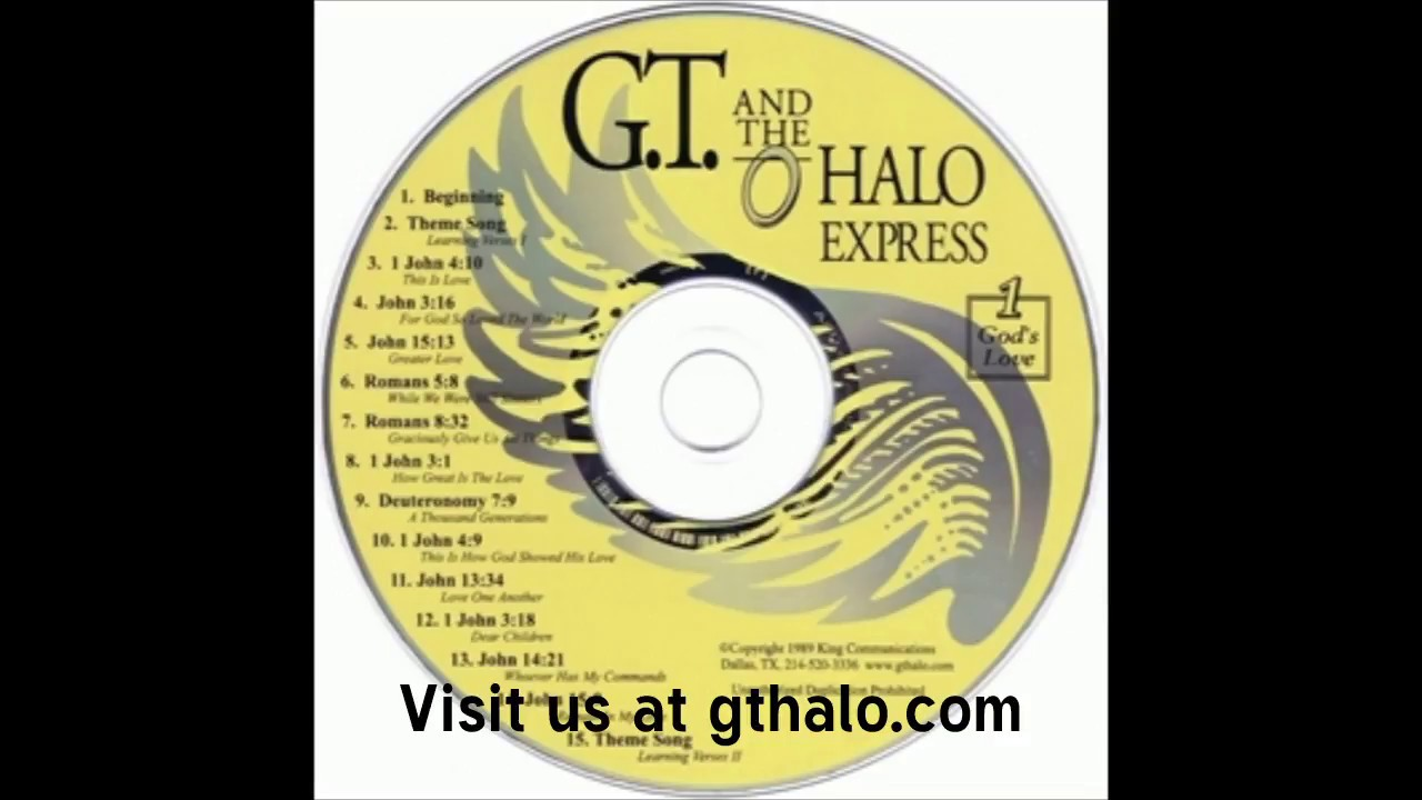 GT and the Halo Express CD #1 - God's Love (Sample)