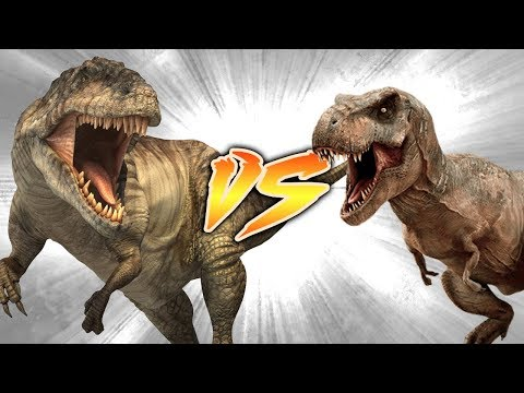 Giganotosaurus VS T. rex [Who Would Win?]