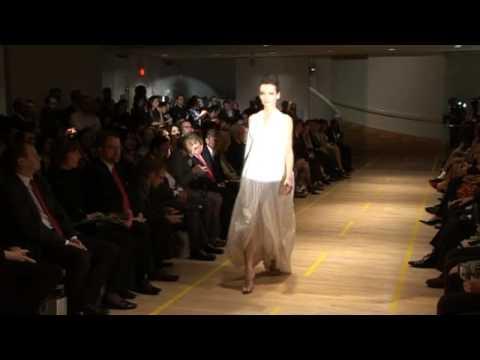Sarka Siskova - Fashion Show NY - Museum of Arts & Design