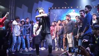 SHUBHANKAR GAWADE a.k.a HECTIk ART OF FREESTYLE ON DIL DOOBA JUST DANCE INDIA  LIVE JUDGE SHOWCASE