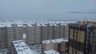 #АНАПА - ЗАСЫПАЕТ СНЕГОМ 7.01.2019 - С РОЖДЕСТВОМ!!!