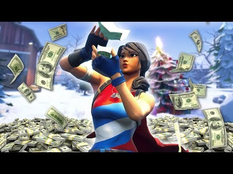 Playing Fortnite for $1,000,000 is hard... (Winter Royale Tournament)