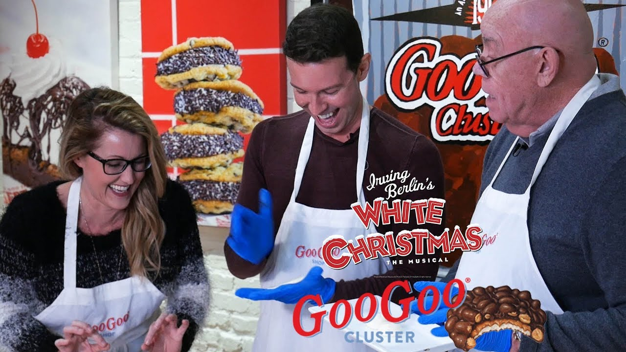 White Christmas Cast.Irving Berlin S White Christmas Cast Learn To Make Their Premium Goo Goo