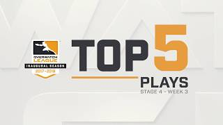 Overwatch League Top 5 Plays – Stage 4 – Week 3