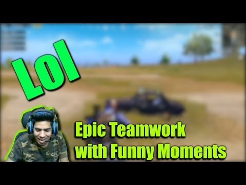 Epic Teamwork With Funny Moments    PUBG MOBILE #53    MDisCrazY