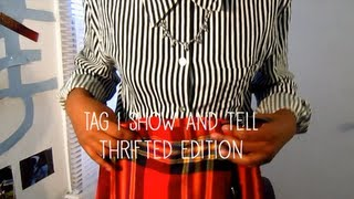TAG | Show & Tell: Thrifted Edition Thumbnail