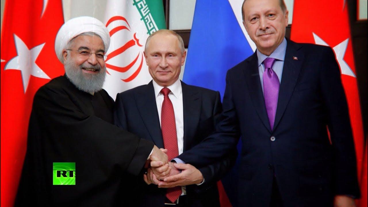 Союз России, Турции и Ирана: как прошли переговоры лидеров трёх государств по Сирии