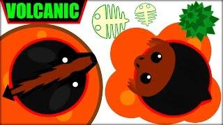 Mope.io Volcanic Animals | All Black Animal Ideas | Mope.io New Update Mope.io
